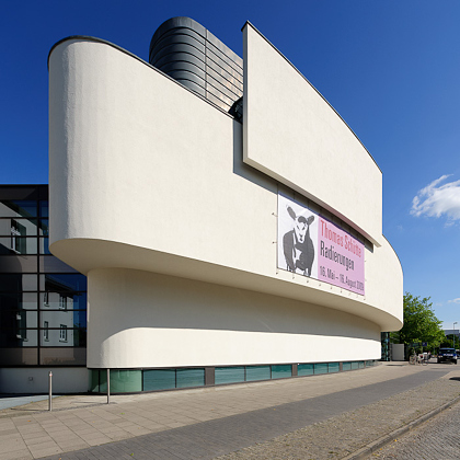 Architekturaufnahme vom Horst-Janssen-Museum in Oldenburg